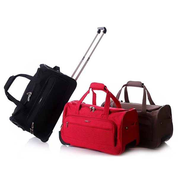 6bfbde7acb Decent Quality Standard Trolley Travel Bag With Wheels