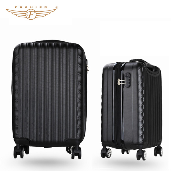 Designer Decent Plastic Suitcase Travel Trolley